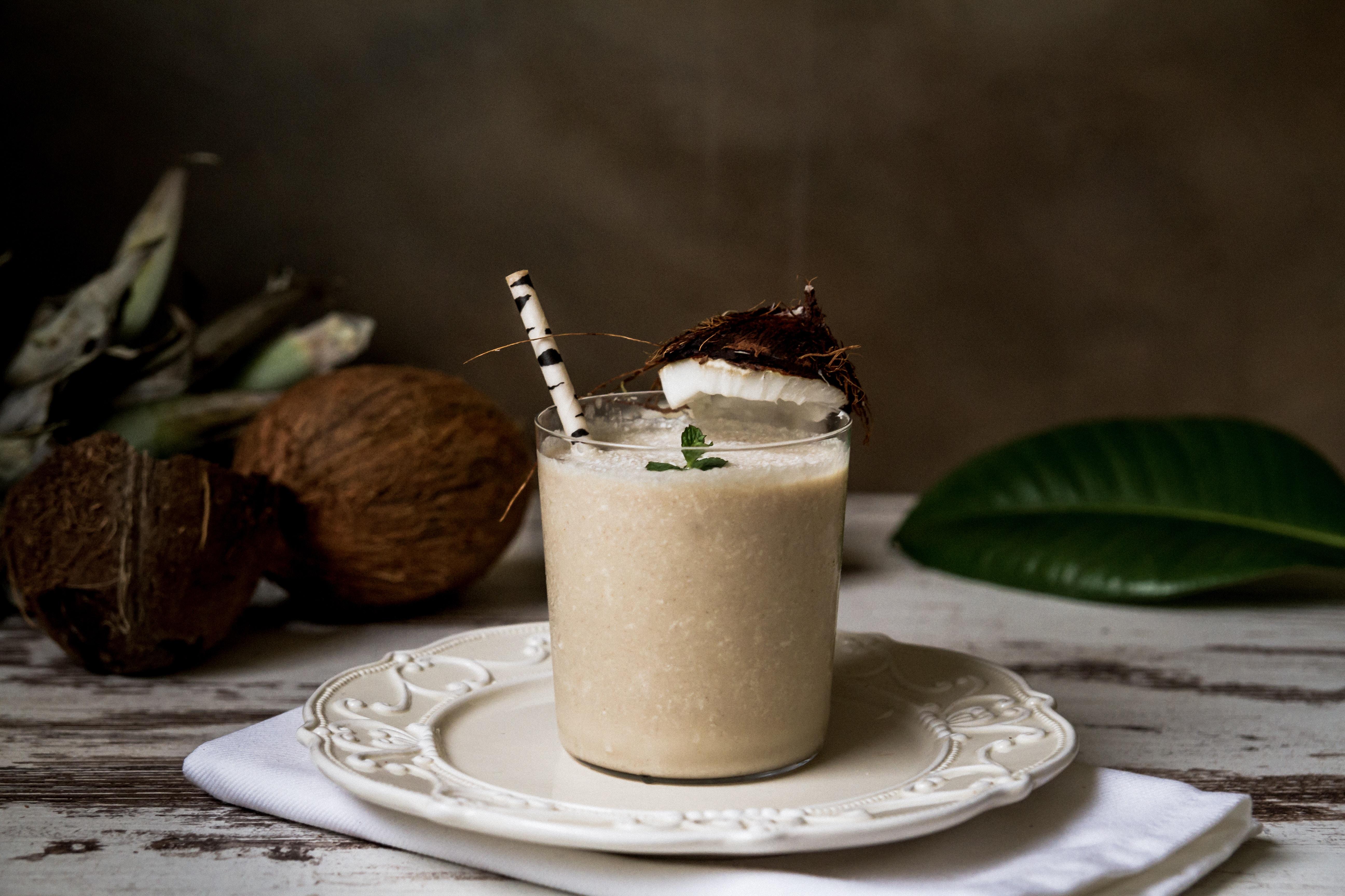 Frappé coco pour un été frais et savoureux