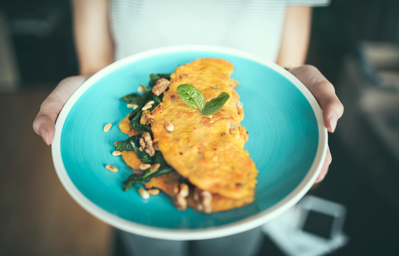 omelette vegetarienne
