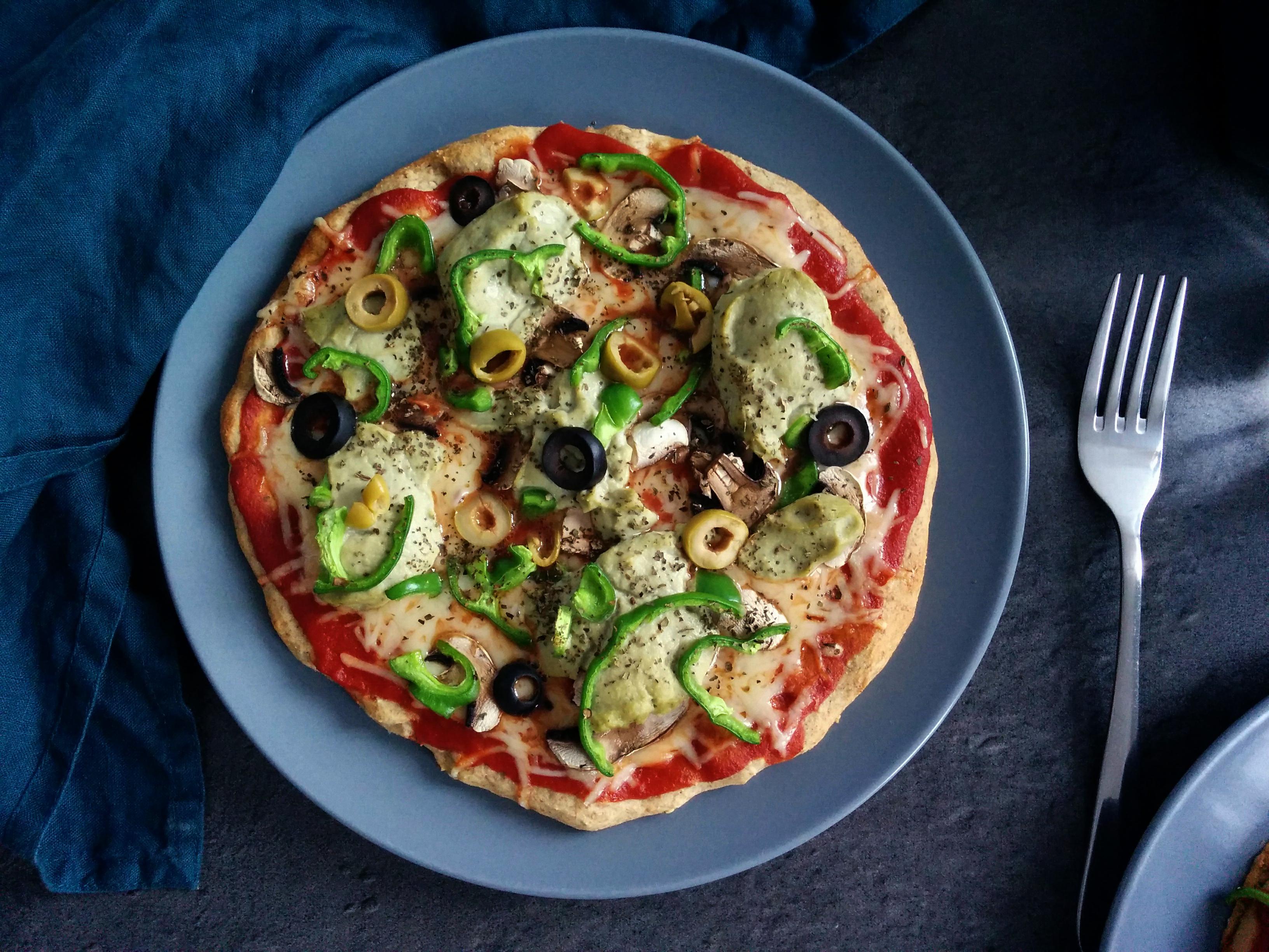 pizza healthy _ santé et gourmandise