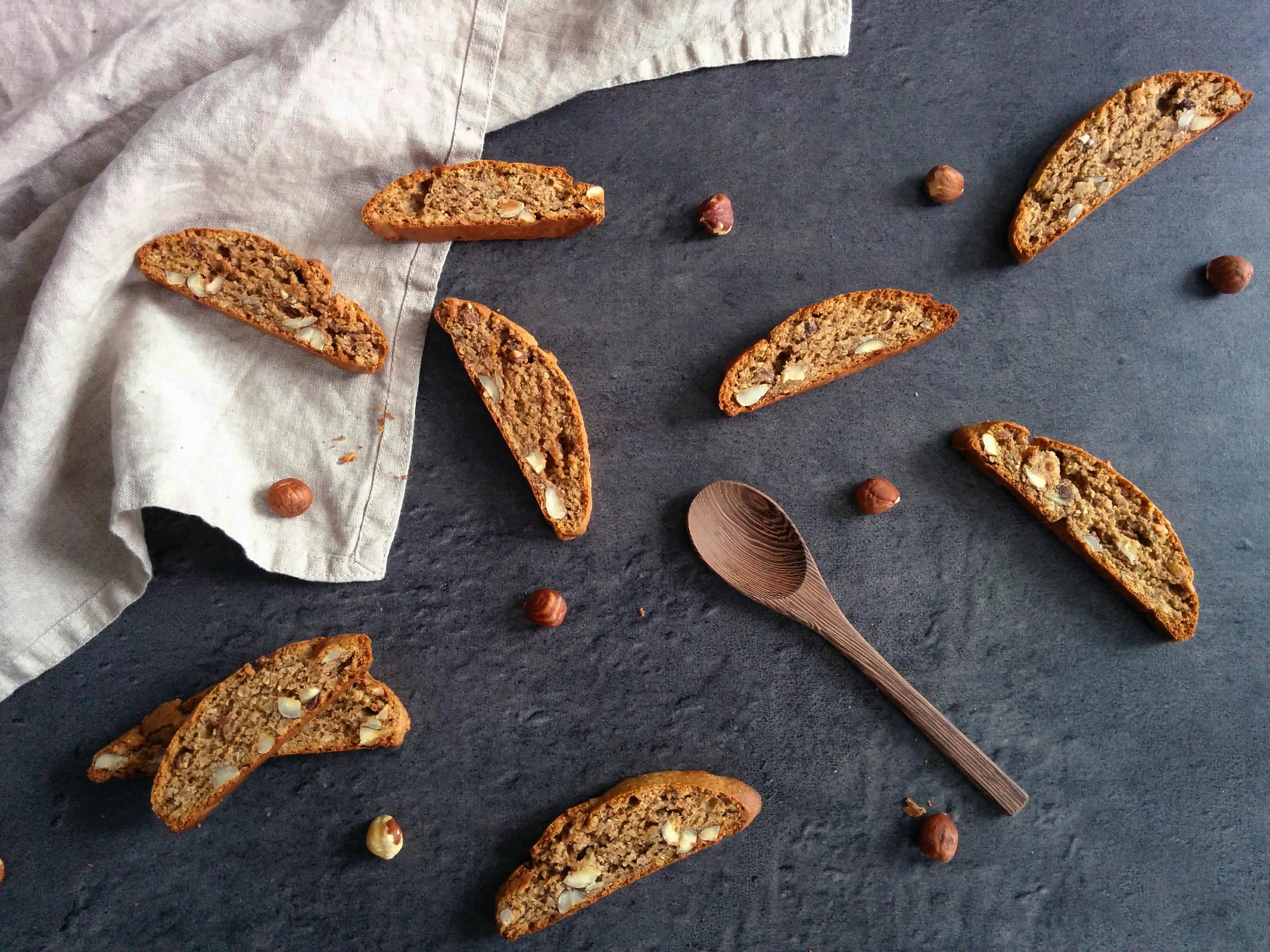 Biscotti IG bas aux noisettes _ santé et gourmandise