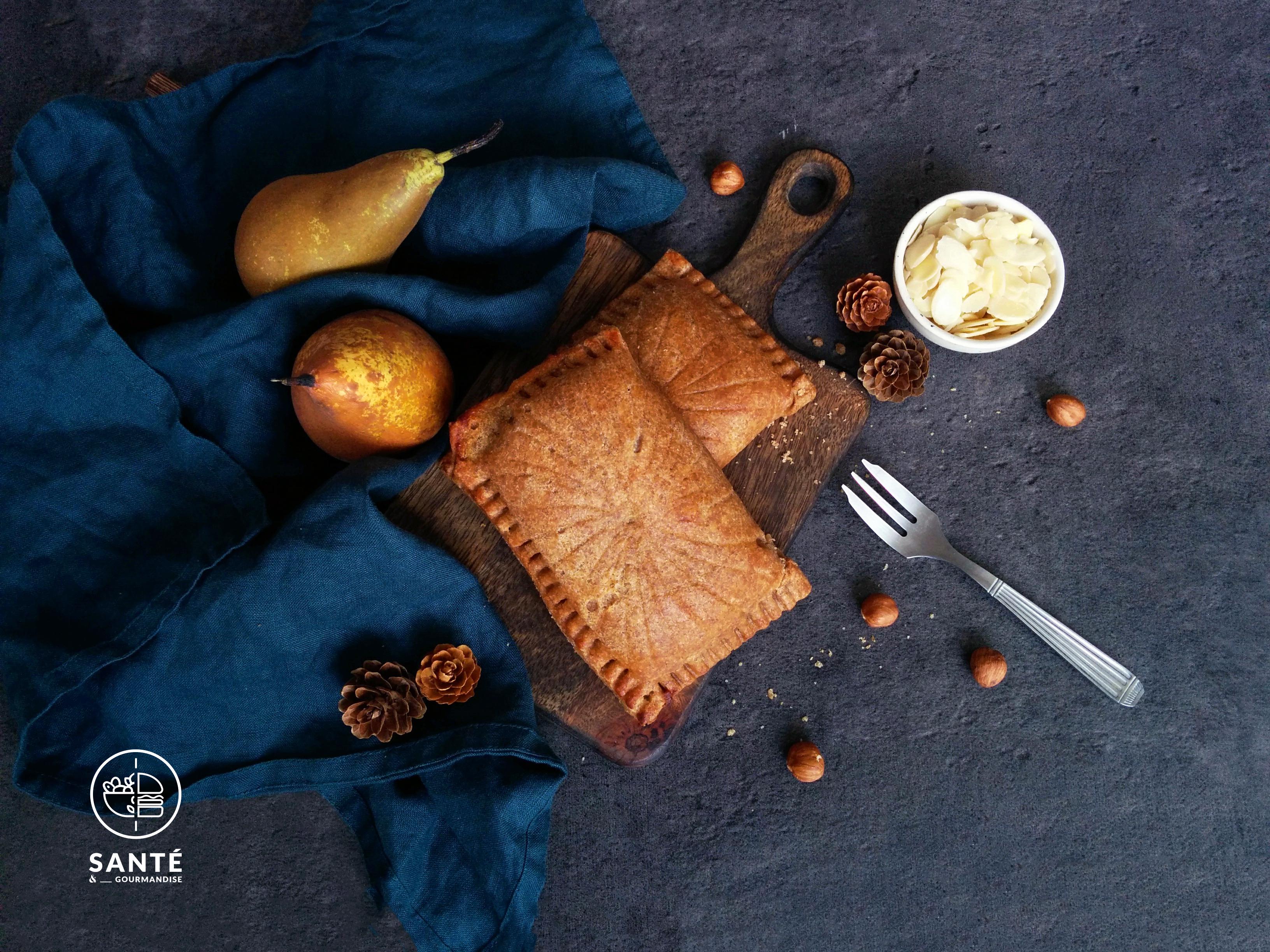 Galette des rois IG bas poire et chocolat _ santé et gourmandise